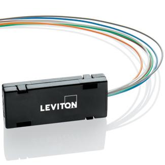 Leviton 49887-6S 24 Inch ABS Plastic Fiber Optic Fan Out Kit