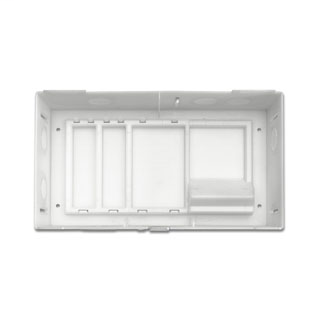 MDU Compact Structured Media Enclosure with Cover, Empty