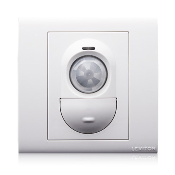 Product Line: PRR11, Technology: Passive Infrared, Form Factor: 3x3, Coverage (Sq.Ft.): 707 Sq. Ft., Switch Type: Push Button, Adjustment: Ambient Light Hold Off adjustable 1-50FC, Time Delay: 8s-30m, Voltage: 220-240VAC, Neutral Wire Connection: Required