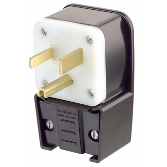 LEV 9550-P STR BL PLUG