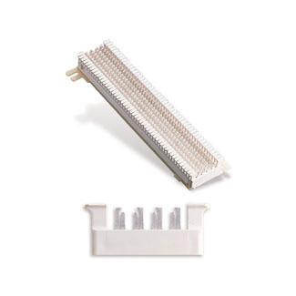 Leviton 40066-M25 3-5/16 x 1-3/16 x 10 Inch 25-Pair Plastic 66 Connecting M-Block