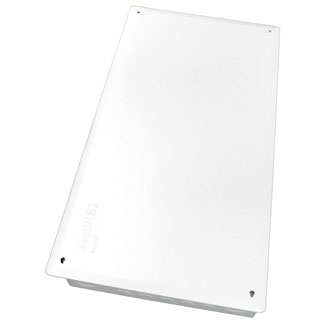"""28"""" Structured Media Enclosure for MDU Applications, Configuration A, Enclosure and Flush-Mount Cover, White"""