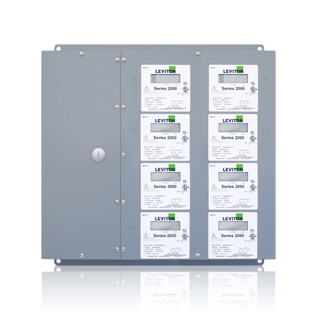 Series 2000 8-Meter Large MMU Indoor Surface Mount Enclosure, 480VAC, 3P/4W, Configured for Amperage Ratings and Optional Demand Feature. CTs Not Included.