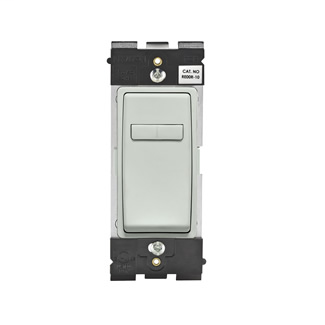 Leviton Renu® Coordinating Dimmer Remote RE00R-SE for 3-Way or More Applications, 120VAC, in Sea Spray