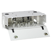 3RU LightSpace DPS-525 Enclosure, empty; Accepts up to (4) LightSpace splice trays.
