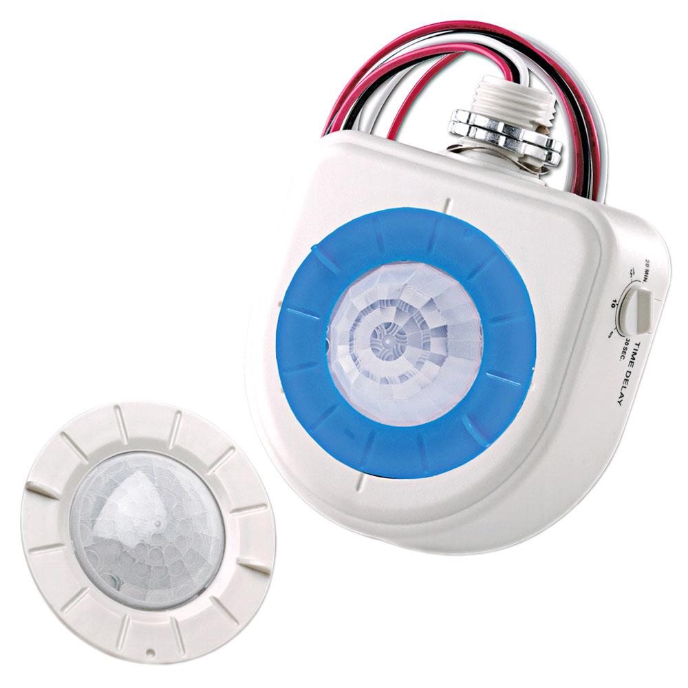 Leviton OSFHU-ITW 120/208/220/230/240/277/347 Volt High Bay Light Fixture Mount Passive Infrared Occupancy Sensor