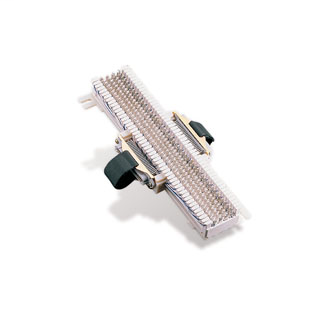 """M Block With Female And Male Connectors (66M1-50W2) 10"""" H x 3-5/16"""" W x 1-3/16"""" D"""