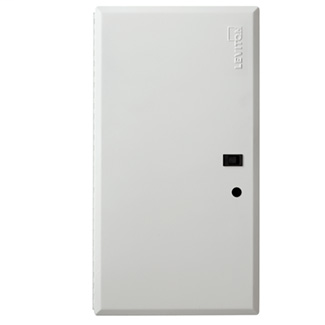 Leviton 47605-28D 15.62 x 0.25 x 29.32 Inch Powder Coated White 18 Gauge Steel Economy Hinged Door Enclosure Cover