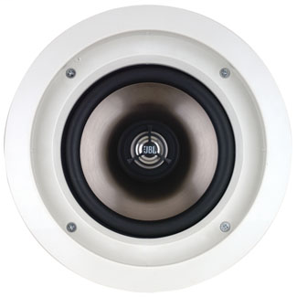 """Leviton Architectural Edition Powered by JBL 6.5"""" Two-Way In-Ceiling Loudspeakers, 50 watts/channel, 8 ohms, sold in pairs"""