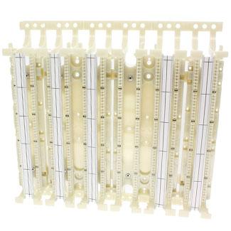 Cat 5e 110-Style Wiring Block, Wall Mount w/legs, 300-Pair