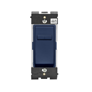 Leviton Renu® Coordinating Dimmer Remote RE00R-RN for 3-Way or More Applications, 120VAC, in Rich Navy