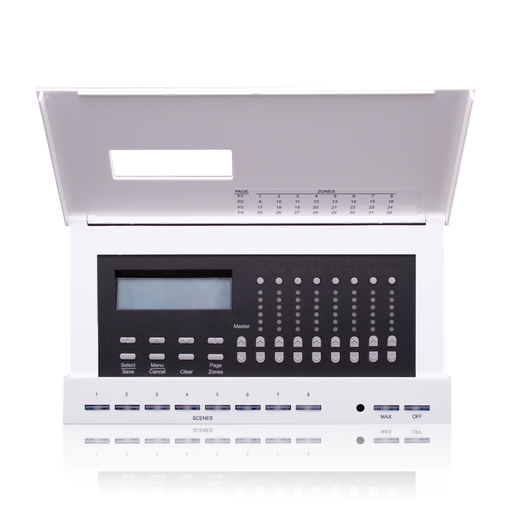 Dimensions D4200 Lighting Controller for Luma-Net commercial lighting control systems. (32) Channel controller, (0) internal dimmers. 12-24Vdc input, Title 24 compliant, ASHRAE 90.1 compliant