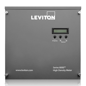 Series 8000, Commercial & Industrial Submeter, 120/208, Phase Config 24x1 (1P/3W), 12x2 (2P/3W), 8x3 (3P/4W) with Wiring Harness, Title 24 compliant, ASHRAE 90.1 compliant