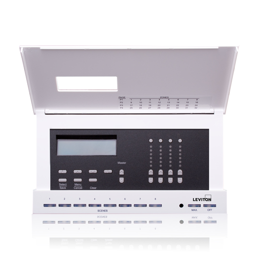 DimensionsD4104 Lighting Controller for Luma-Net system, 4 Control Channels, 4 Local Dimmers, 20A, 120V, Title 24 compliant, ASHRAE 90.1 compliant