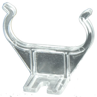 Screw Mount Lamp Support Clip for Horizontal Mount 2G11 Base Twin Tube Fluorescent Lampholder