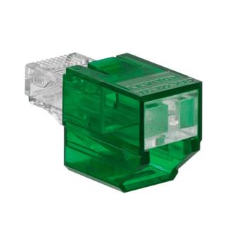 Port Blocker, Secure RJ, Green color transparent