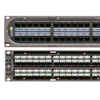 LEV C1255-H48 48PORT 2RU QP COMPOSI
