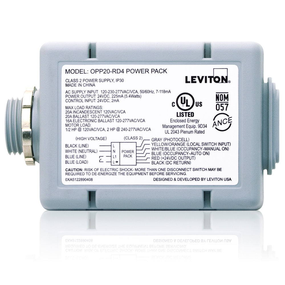 LEV OPP20-RD3 20A AUTO ON, PC PWR P