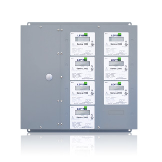 Series 2000 7-Meter Large MMU Indoor Surface Mount Enclosure, 480VAC, 3P/4W, Configured for Amperage Ratings and Optional Demand Feature. CTs Not Included.