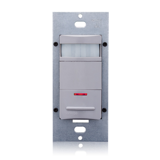 AutoON/AutoOFF PIR Occupancy Sensor (ManualON/AutoOFF selectable) Lighting Control, Vandal resistant, Manual Wall Switch. Robust Single Latching 10A Relay, No-Neutral wire required, 120/208/220/230/240/277VAC, 50/60hz, Field of View 2100 sq ft (Motion: Ma