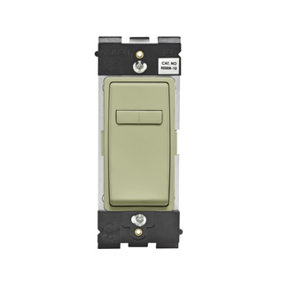 Leviton Renu® Coordinating Dimmer Remote RE00R-PS for 3-Way or More Applications, 120VAC, in Prairie Sage