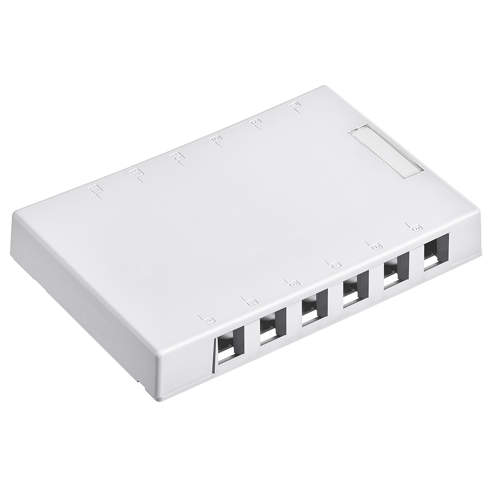 LEV 41089-12W SMBOX 12PORT WH