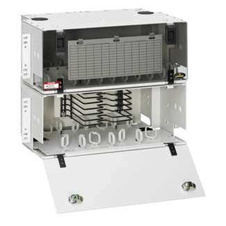 8RU LightSpace DPC-700 Enclosure, empty; Accepts up to (12) LightSpace adapter plates and (6) splice trays.