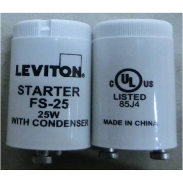 Leviton 13889 FS-25 Fluorescent Starter