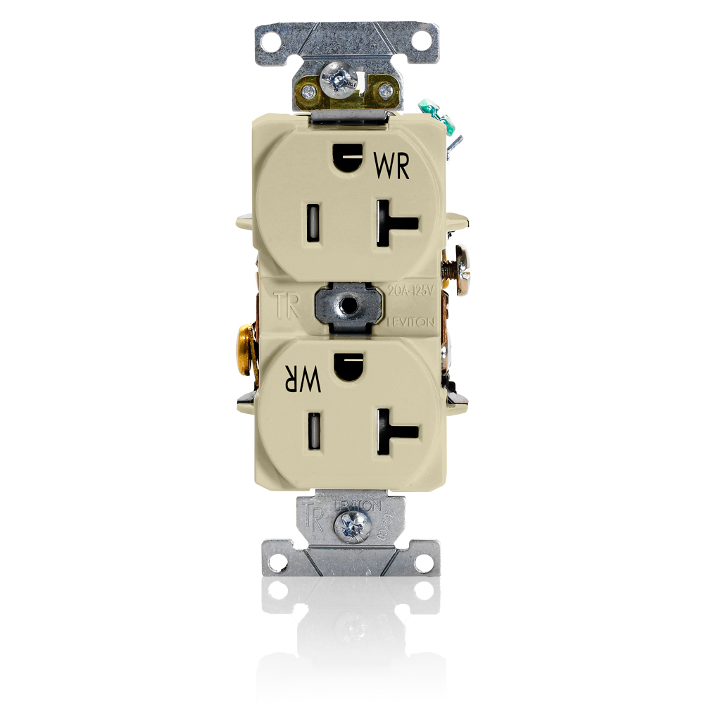 LEV TWR20-I 20A-125V T&WR COMM RCPT