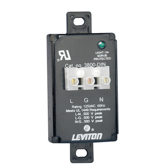 LEV 3848-WM TVSS 48V DC TERM BLOCK