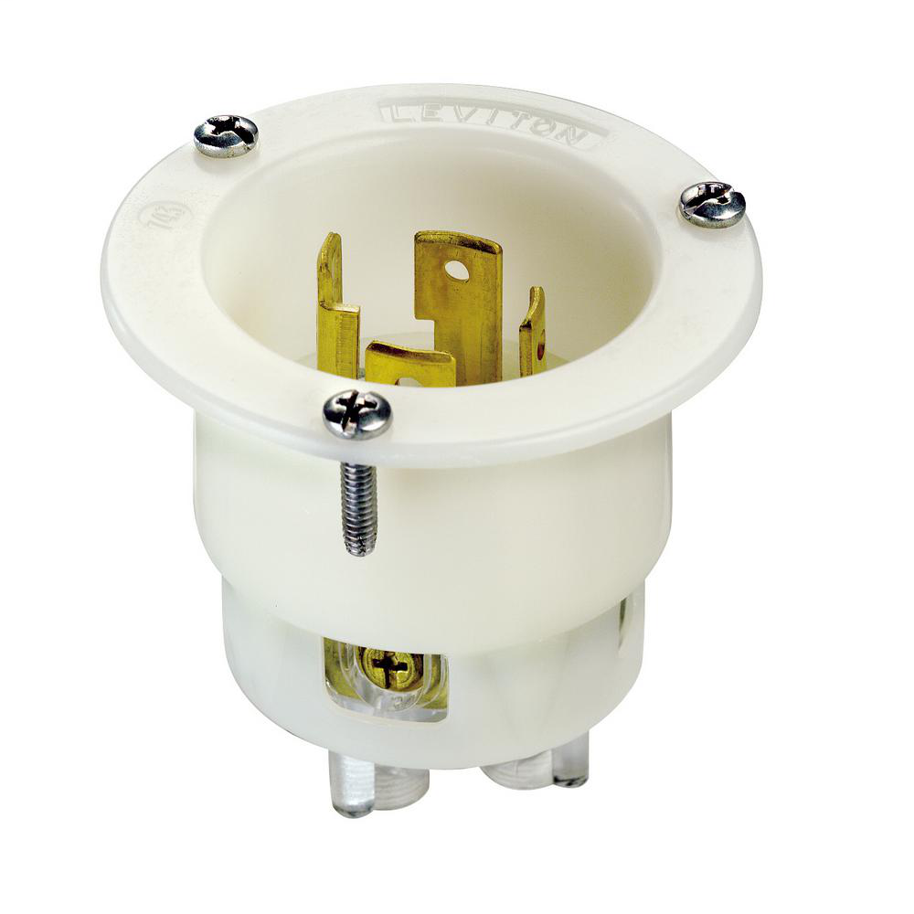 Leviton 2715 Flanged Inlet