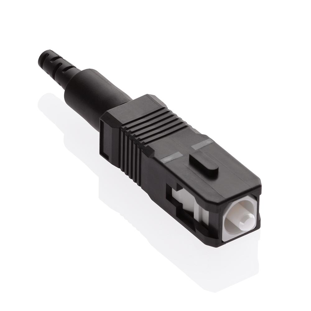 LEV 49991-5SC CONN FCAM SC OM2 BK