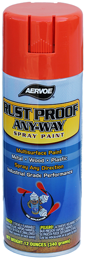 Item # 305, (305) Solvent Based Rust Proof Paint
