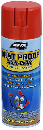 Item # 301, (301) Solvent Based Rust Proof Paint