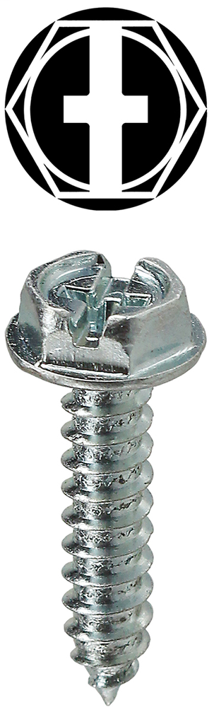 Item # HWSMS101, (HWSMS101) Hexagonal Washer Head Sheet Metal Screw