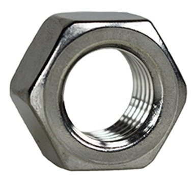 Item # HNS1032, (HNS1032) 18-8 Stainless Steel Hexagonal Machine Nut