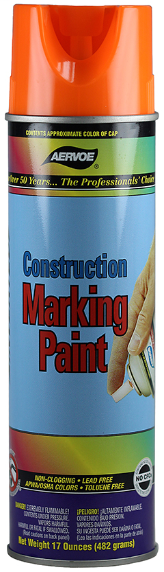 Marking Paint - Fluorescent Orange