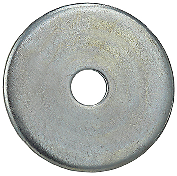 Item # FENW14114, (FENW14114) Steel Fender Flat Washer