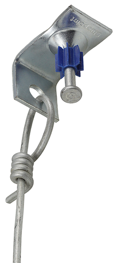Item # CWC8, (CWC8) Pre-Tied Ceiling Wire Cable with Pin and Clip