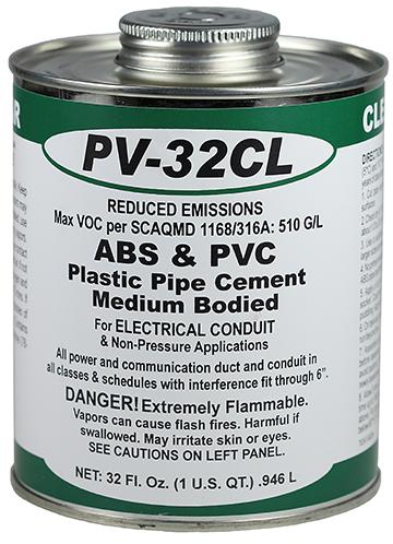 DOTTIE PV32CL Qt ABS/PVC ClearCement (Low VOC)