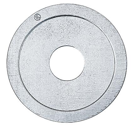 "Dottie RW32 1 x 3/4"" Zinc Plated Steel Conduit Reducing Washer"