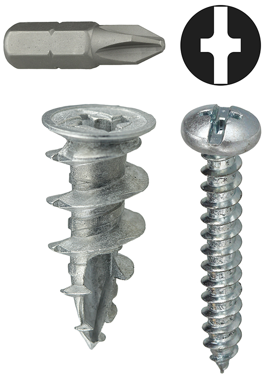 Item # WDK8, (WDK8) Zinc Wall Board Anchor Kit