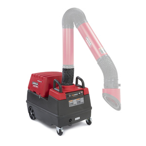 Mobiflex® 200-M w/ MERV 14 Filter Welding Fume Extractor Base Unit, K1653-4, Base Unit
