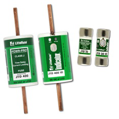 Littelfuse JTD005ID 5 Amp 600 VAC 300 VDC Class J Time Delay Fuse with Indicator