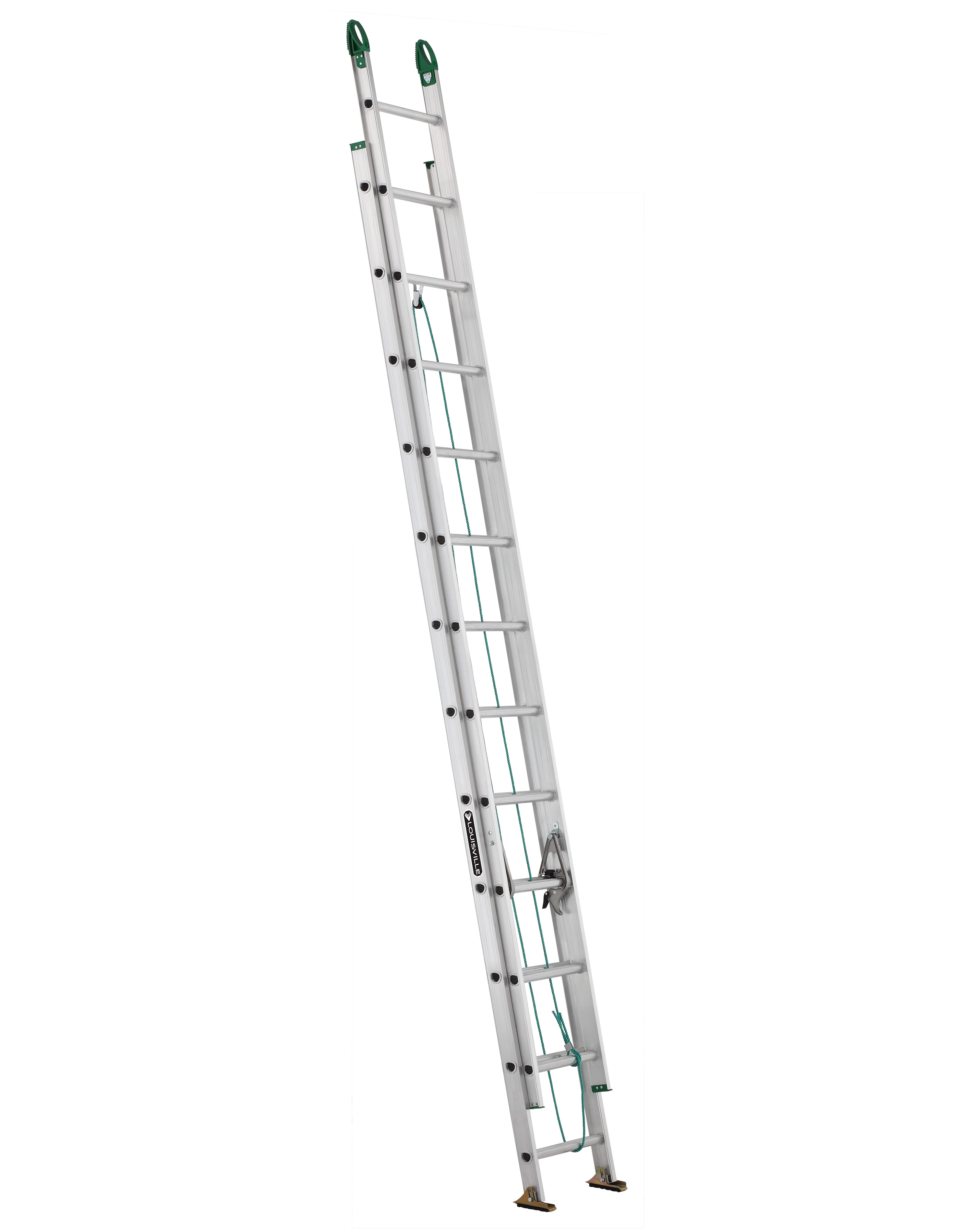 L-VIL AE4224PG 24FT AL EXT LADDER