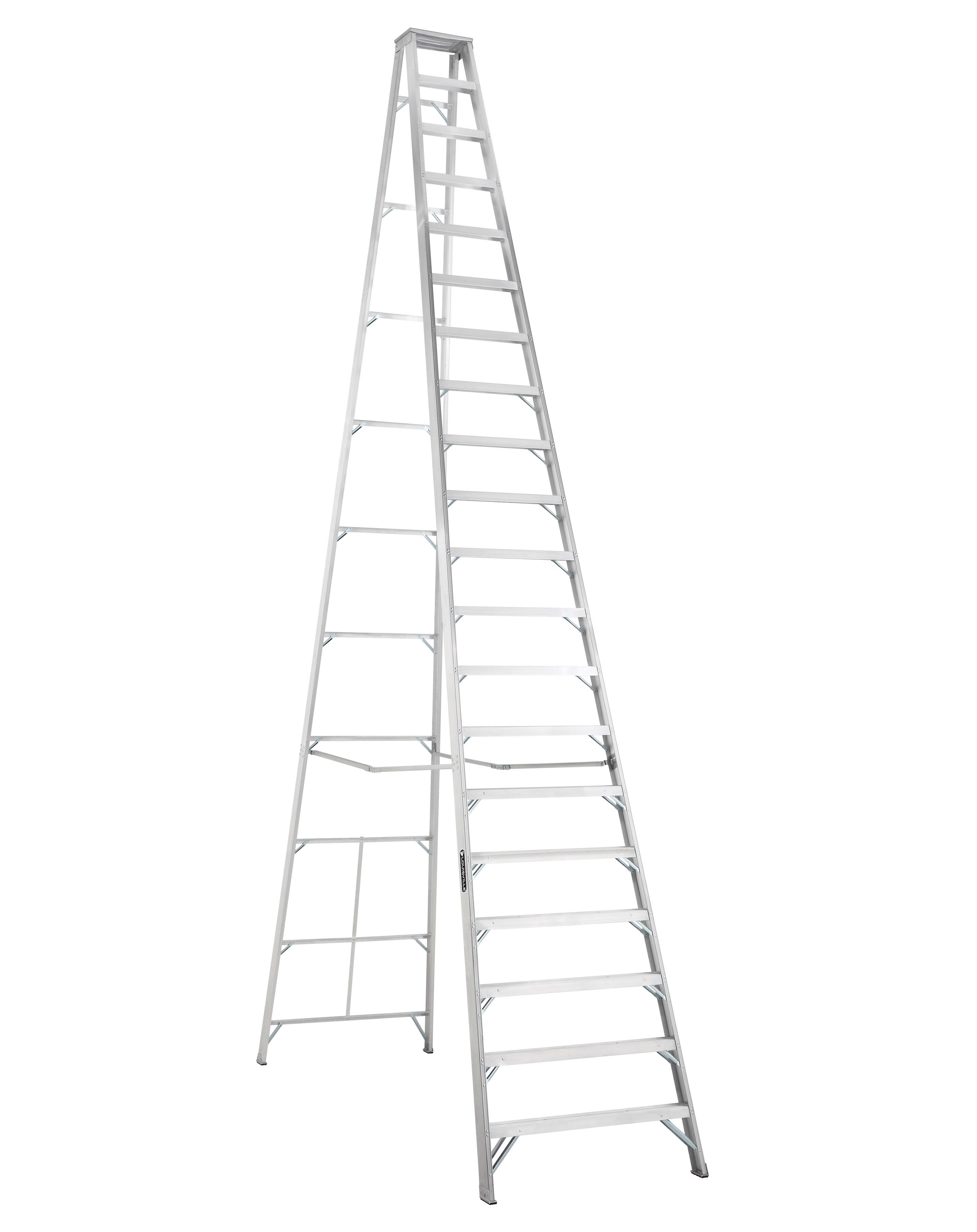 Louisville Ladder AS1020 20 Foot 300 lb Duty Rating Aluminum Stepladder