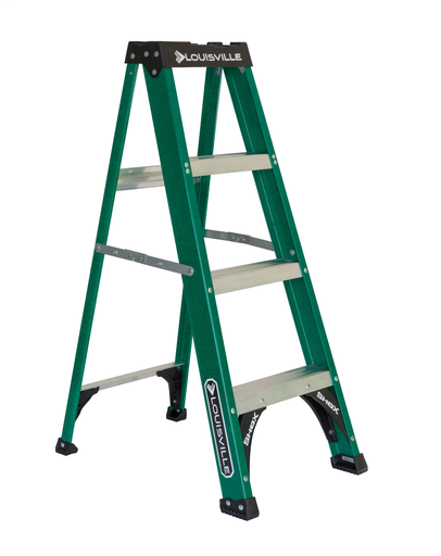 L-VIL FS4004 4FT FBGL STEP LADDER