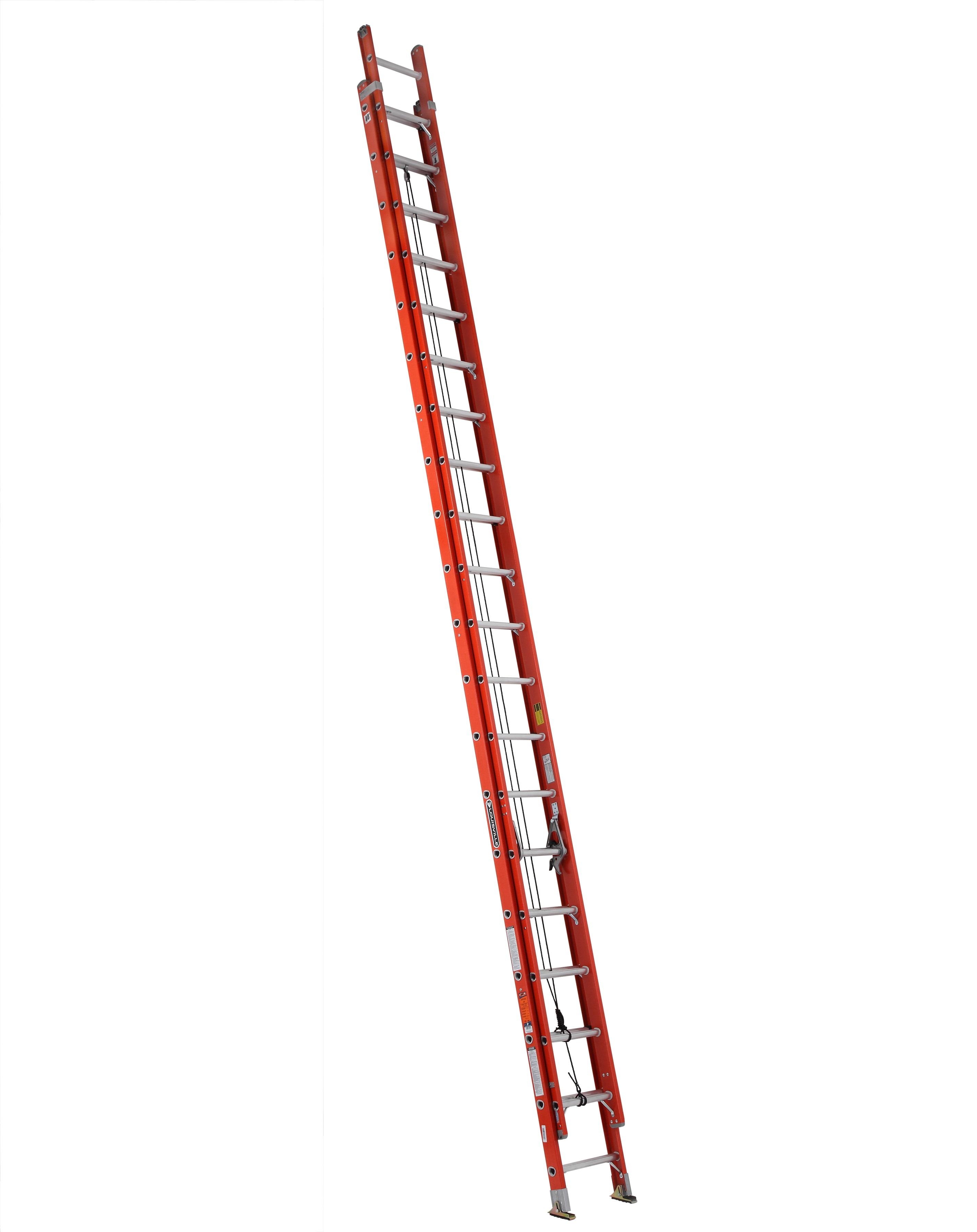Louisville Ladder FE3240 40 Foot 300 lb Capacity Fiberglass Extension Ladder