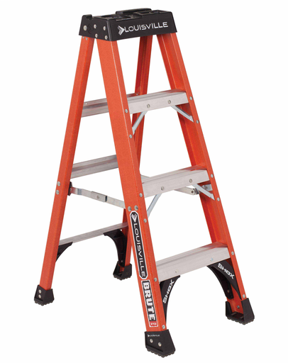 Mayer-4 ft Fiberglass Standard Step Ladders-1