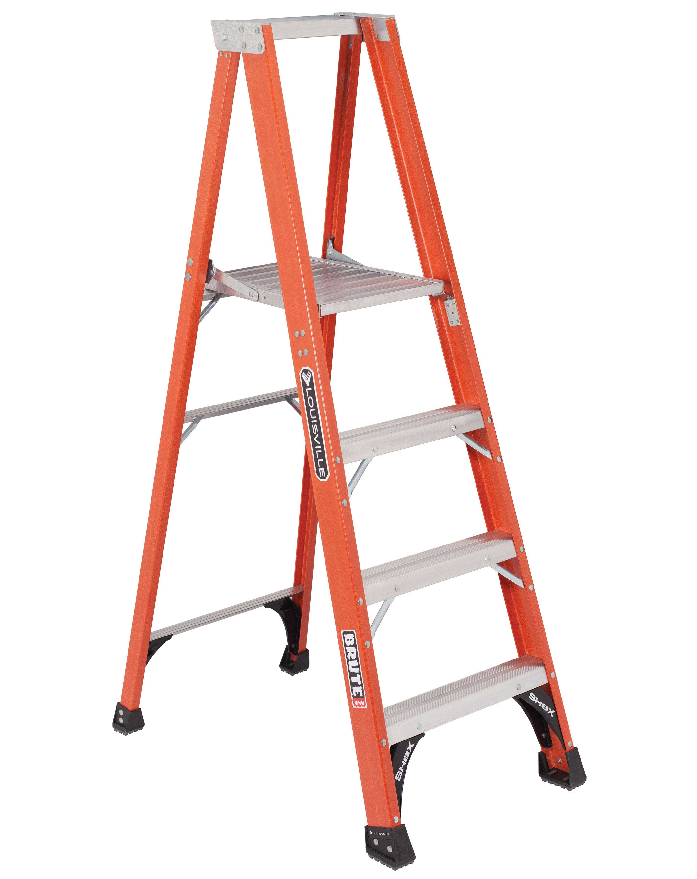 L-VIL FP1404HD 4FT FBGL STEP LADDER